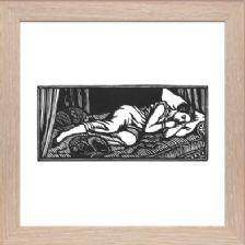 The Sleeping Beauty - Ready Framed